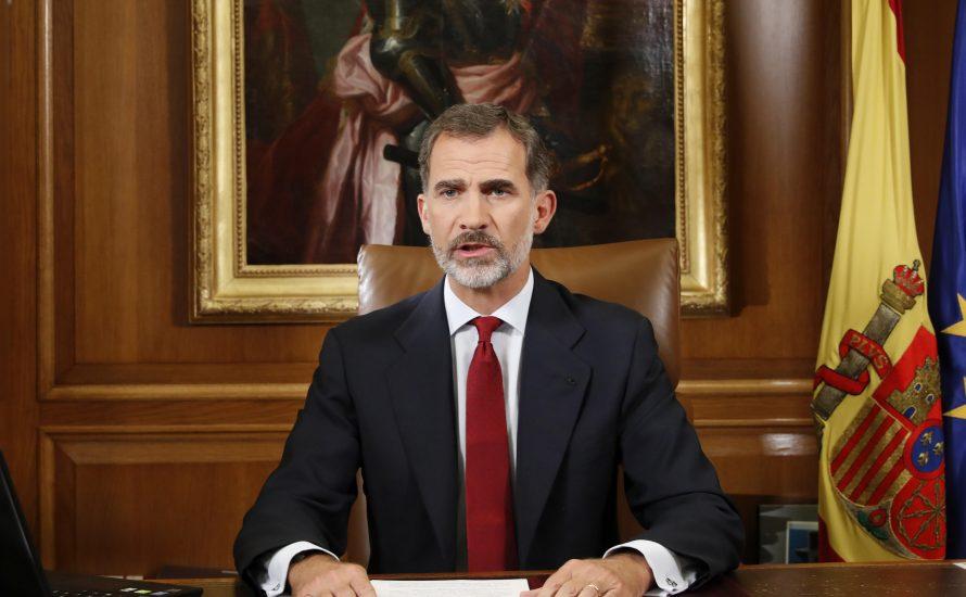 Kriegserklärung des spanischen Königs an Katalonien