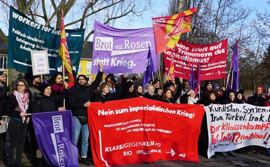 [Fotos] LLL-Demo 2020: Nein zum imperialistischen Krieg! Solidarität mit den Massenaufständen!