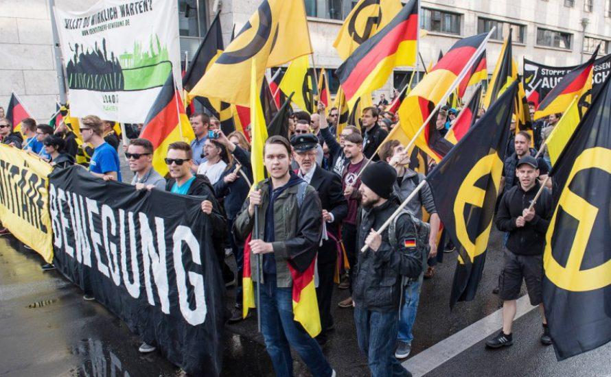 Identitäre stürmen feministische Veranstaltung in der Uni München
