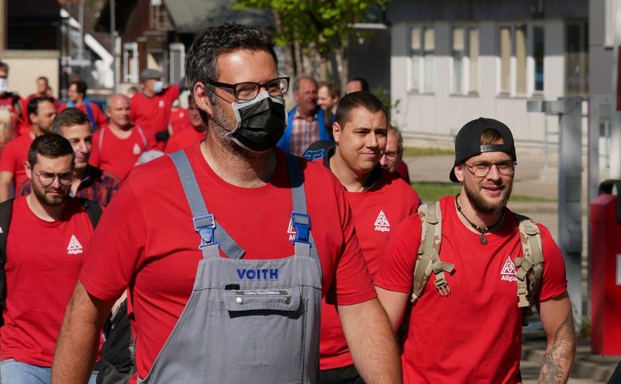Schließung von Voith in Sonthofen: Der Kampf ist nicht verloren! Für eine Ausweitung der Mobilisierung!