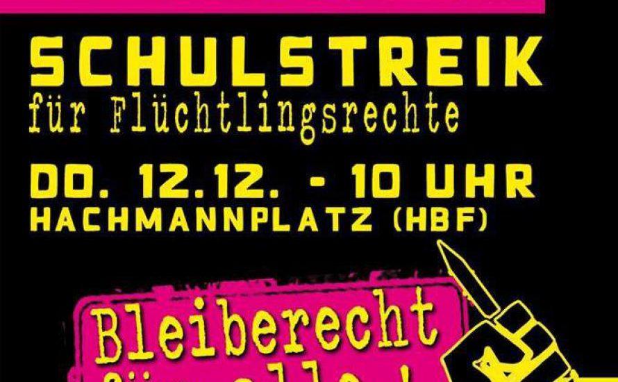 Interview: Schulstreik fürs Bleiberecht in Hamburg