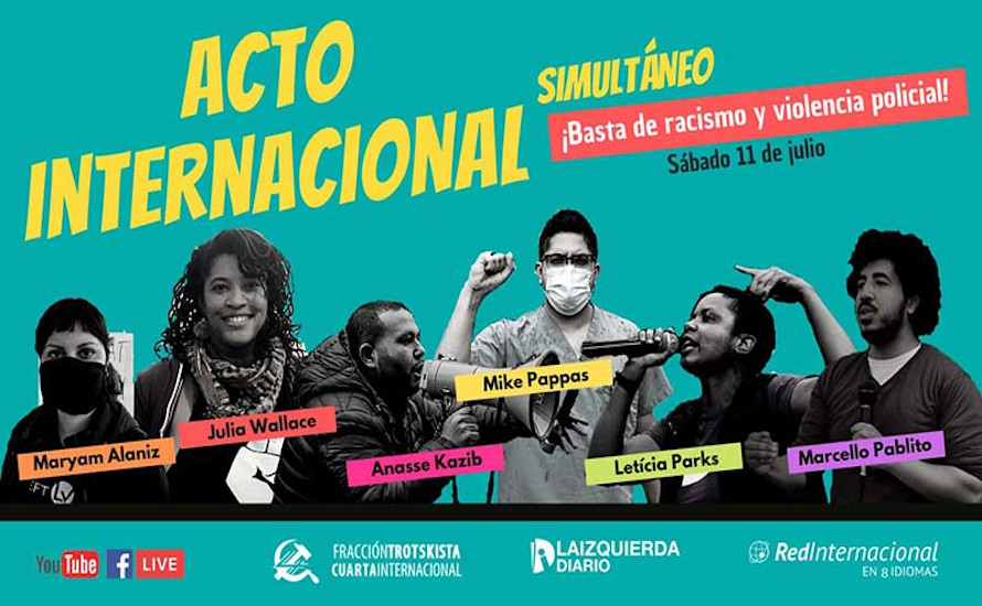 Internationale Veranstaltung: Viele Gründe, um gegen Rassismus und Polizeigewalt zu kämpfen