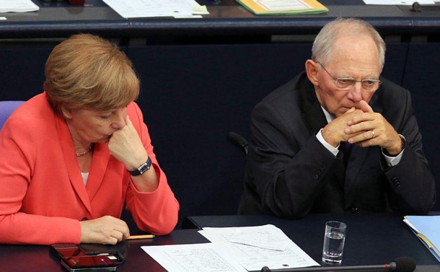 Merkel vs. Schäuble?