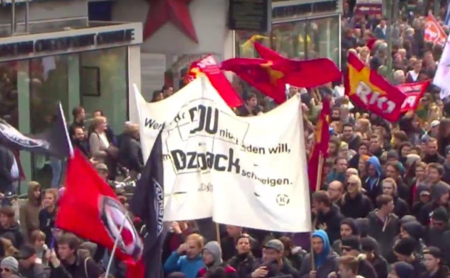 Weg frei für Rassist*innen: Polizei prügelt für die AfD