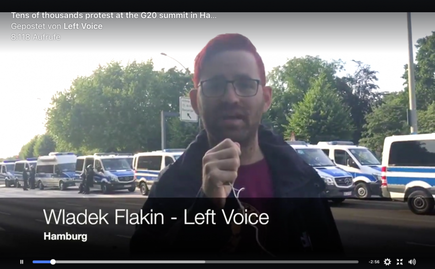 Internationale Berichterstattung von G20-Gipfel