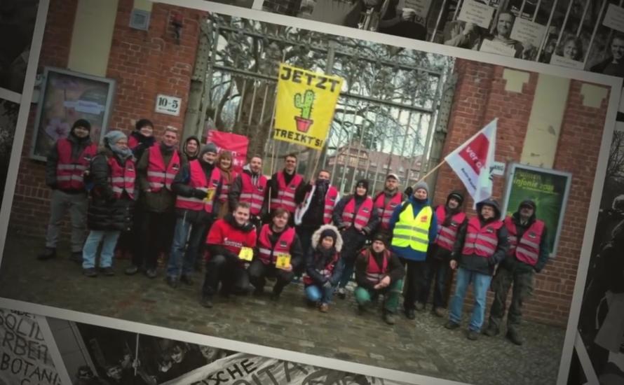[Video] Der Sieg der Beschäftigten des Botanischen Gartens in Berlin