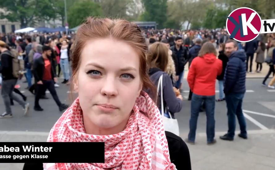 [Video] Tausende Arbeiter*innen und Jugendliche beim 1. Mai in Berlin