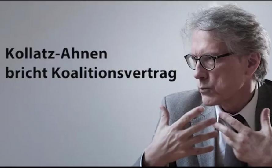 [Video] VSG-Streik: Wie Kollatz-Ahnen den Koalitionsvertrag bricht