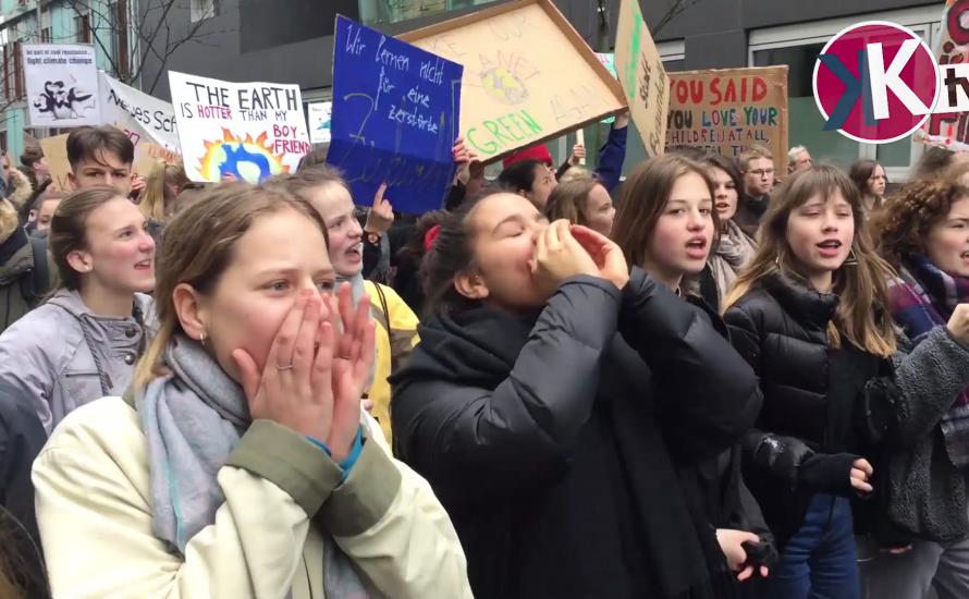 [Video] Fridays For Future: #Globalstreik gegen Klimakatastrophe