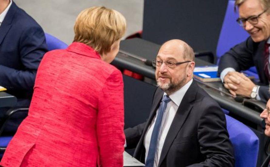 Rettet die SPD Merkel?