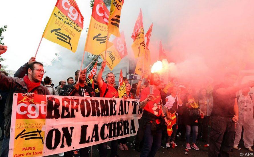 Spektakuläre Streiks und Blockaden in Frankreich erwartet!