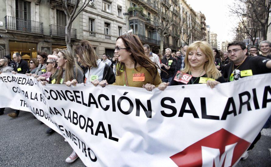 Barcelona: Große Streiks während des Mobile World Congress