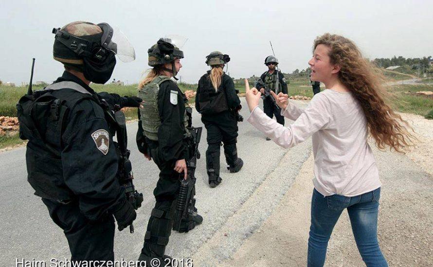 Palästinensisches Mädchen festgenommen - ein instrumentalisiertes Kind oder eine Kämpferin?
