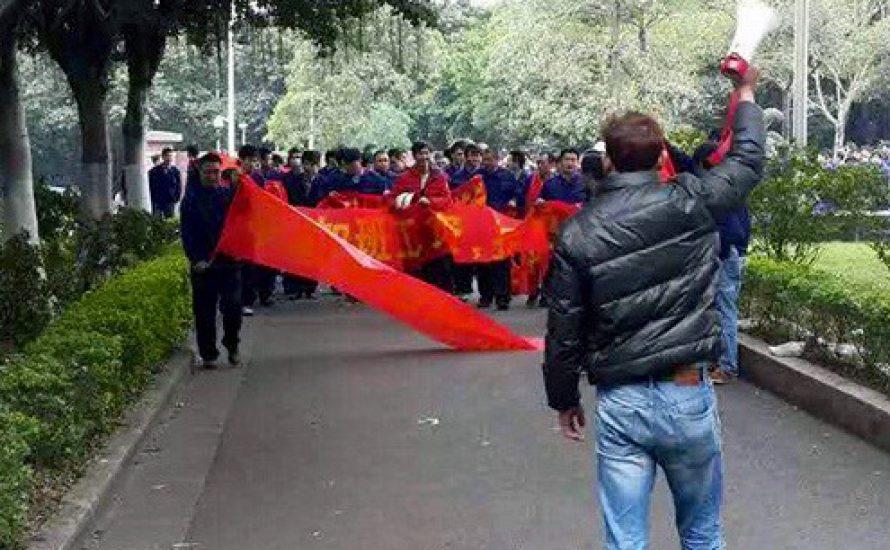 China: Die Wirtschaft verlangsamt sich, neue Proteste kommen auf