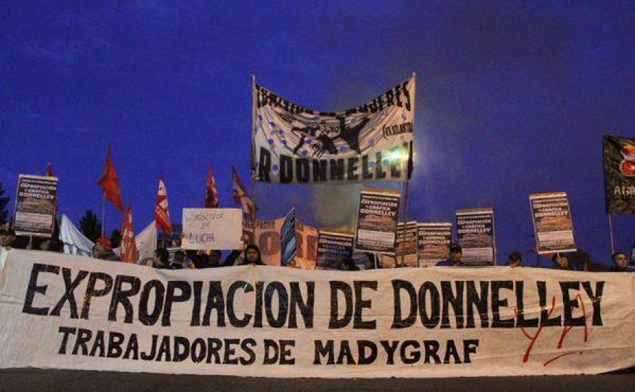 Parlament beschließt Enteignung der Druckerei Donnelley in Buenos Aires