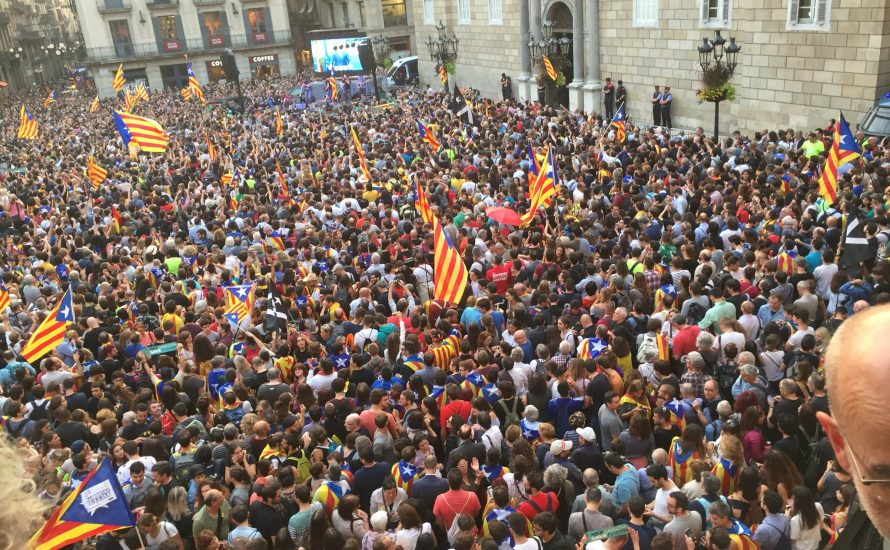 Visca Catalunya lliure i socialista!