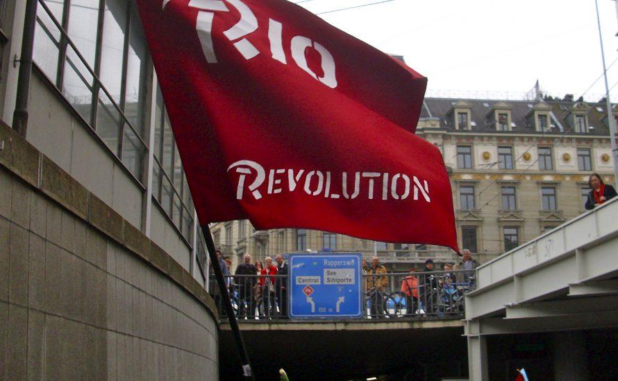 Offene Treffen von RIO an der FU Berlin