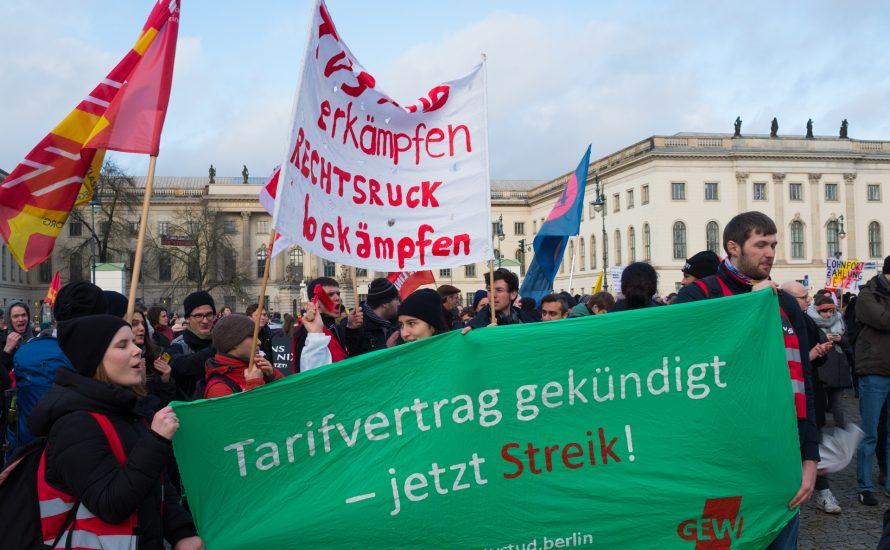 TVStud: Heute und morgen Aktionen an der FU Berlin
