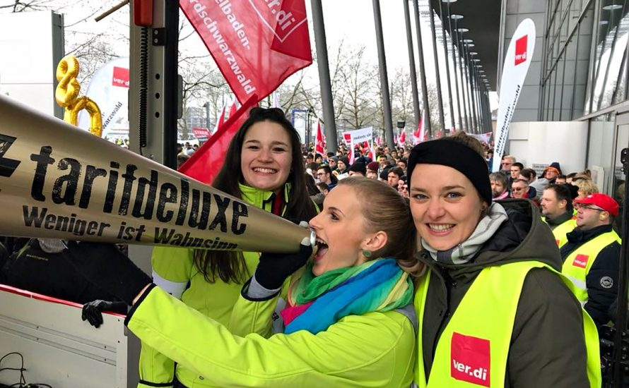 Bayern: Der Streik im Öffentlichen Dienst und die