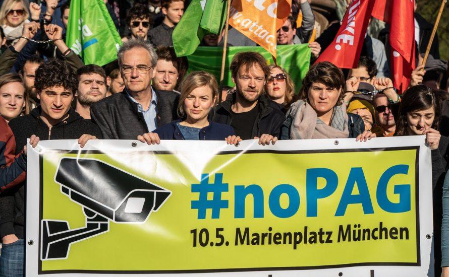 Breite Unzufriedenheit in Bayern: Stoppt das Polizeiaufgabengesetz!