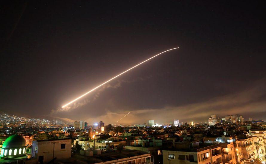 Schluss mit den Angriffen auf Syrien!