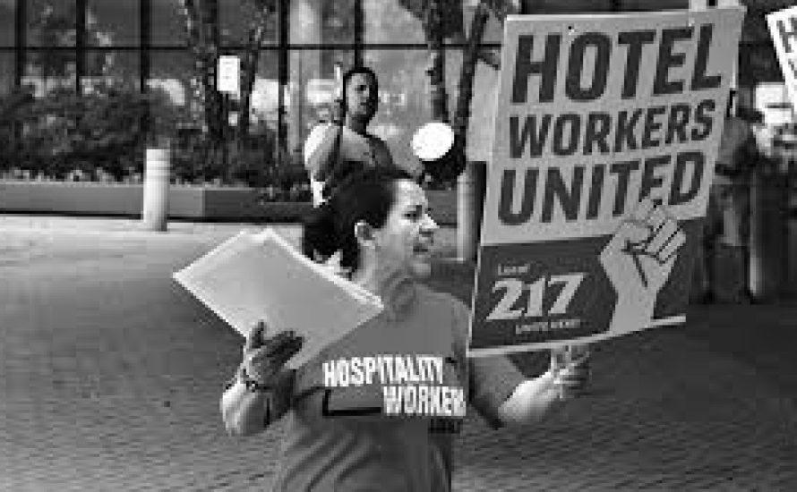 USA: Die Frauen an der Spitze der gewerkschaftlichen Organisierung im Stamford Hilton Hotel