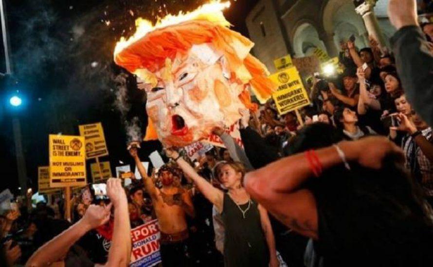 #ResistTrump: Proteste in Washington D.C. und weltweit gegen Trumps Amtseinführung [Mit Videos]