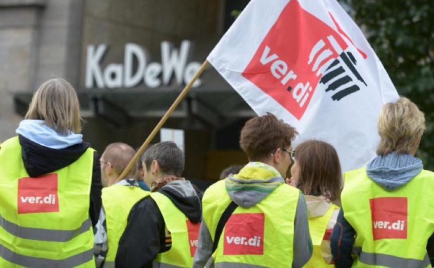 29. Nov: Streik-Kundgebung klein gehalten