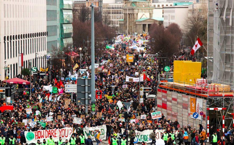 Erneut weltweite Klimaproteste – allein in Deutschland 630.000 mit FFF auf der Straße