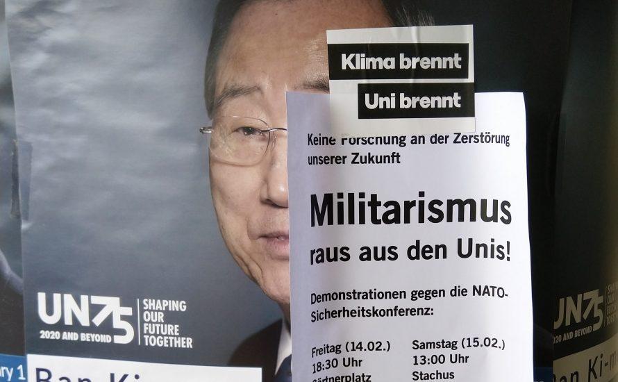 Die Münchner Universitäten forschen an der Zerstörung unserer Zukunft!