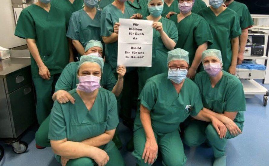 Spahn will zurück zur Normalität – Krankenhausbeschäftigte fordern Schutzmaterial und Wiedereingliederung