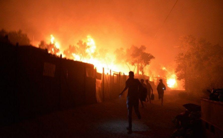 Weitere Katastrophe in Moria: Die Grünen dreschen leere Phrasen