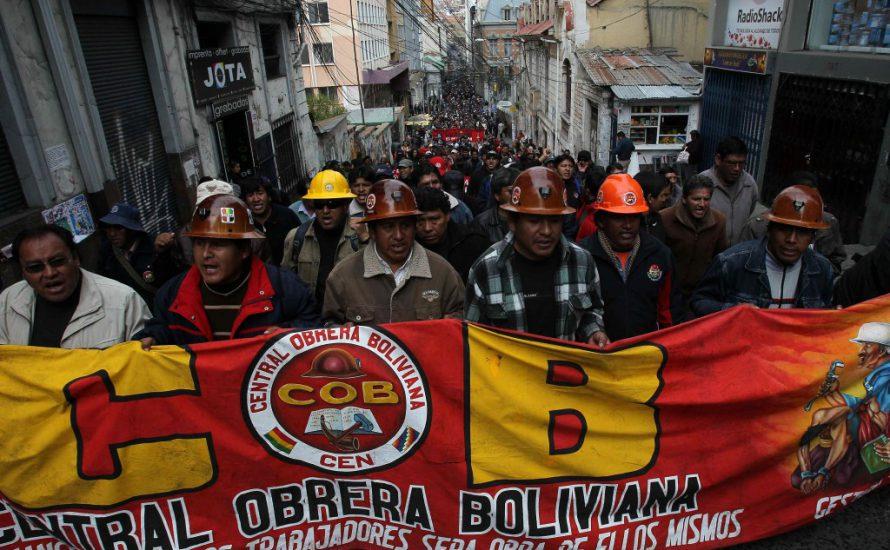 Der Kampf für das Rentengesetz in Bolivien