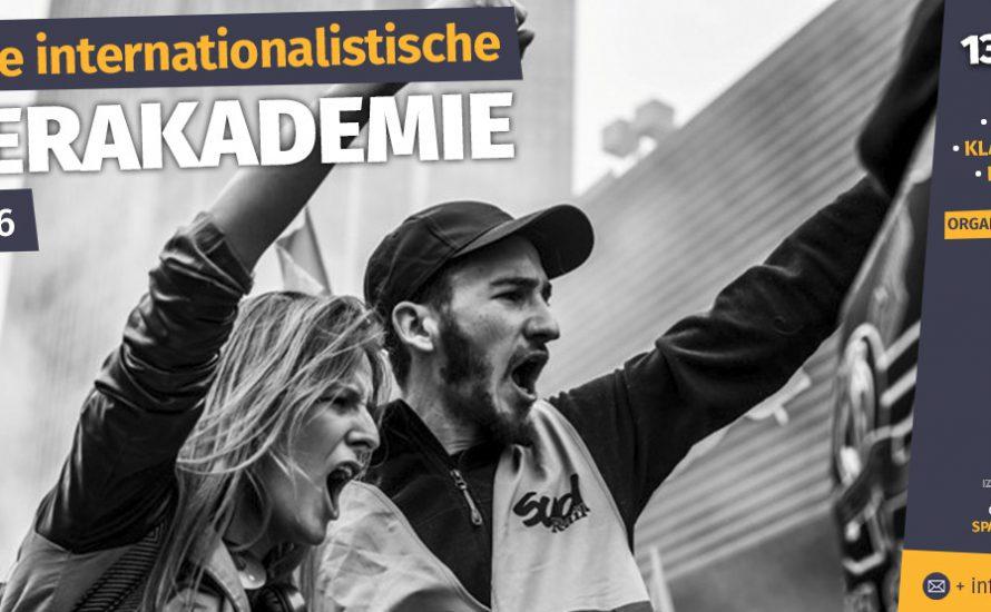 Komm zur Revolutionären internationalistischen Sommerakademie!