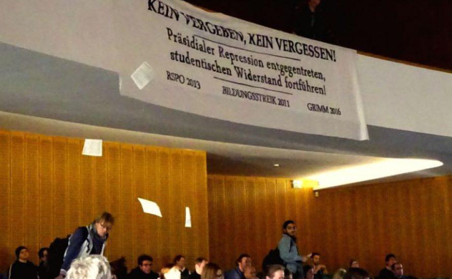 FU: VG Wort angreifen! Keine Kooperation mit dem Präsidium!