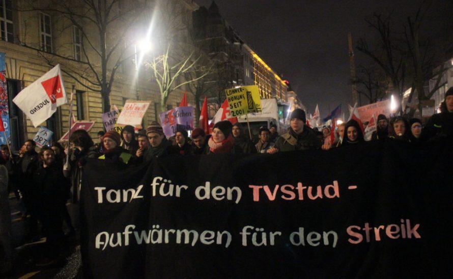 FU probt Streiksabotage