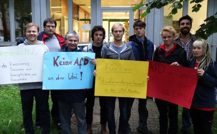 Kampagne: Gesicht zeigen gegen die AfD an der Uni