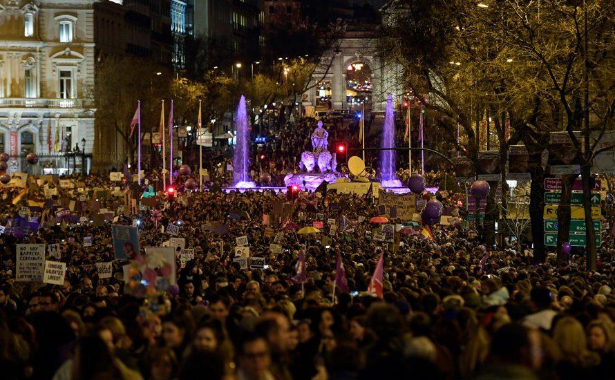Die Erde bebte: Frauenstreiks und Mobilisierungen auf der ganzen Welt