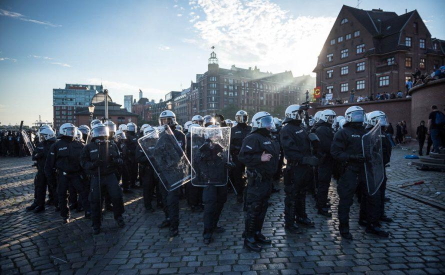 """War die Polizei in Hamburg """"überfordert""""?"""
