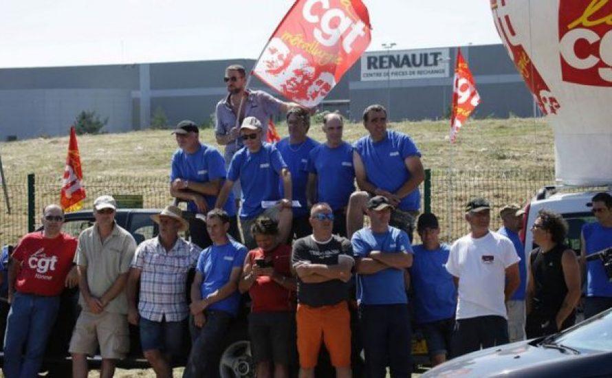 Frankreich: Beschäftigte blockieren eine Autofabrik und werden brutal von der Polizei angegriffen