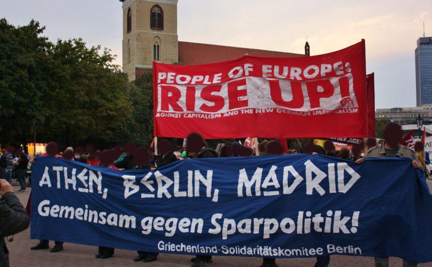 Solidarität von Berlin nach Madrid