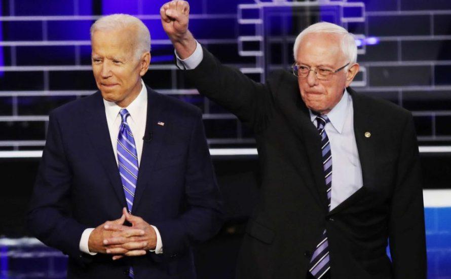 Sanders unterstützt nicht nur Bidens Kandidatur, sondern auch sein Programm