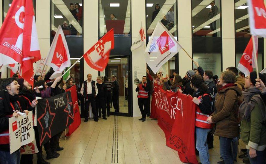 Streik der studentischen Beschäftigten: Das Semester endet mit einem Knall!