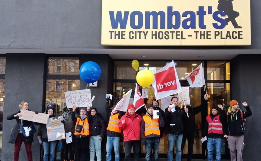 Wombat's: Schließung verhindern, Hostel kollektivieren!