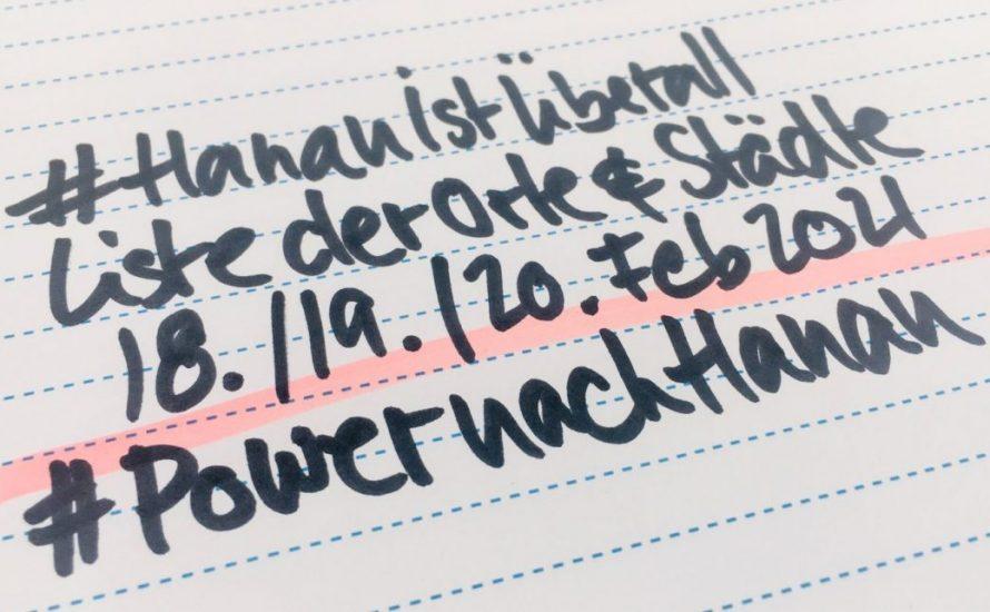 Hanau ist überall: Übersicht des kämpferischen Gedenkens am 19. Februar