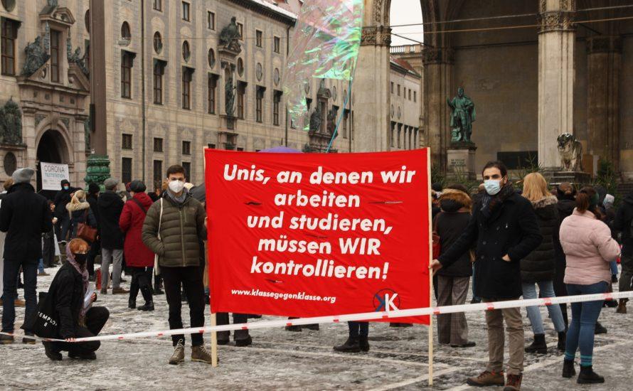 10. Februar in München: Kundgebung gegen die bayerische Hochschulreform