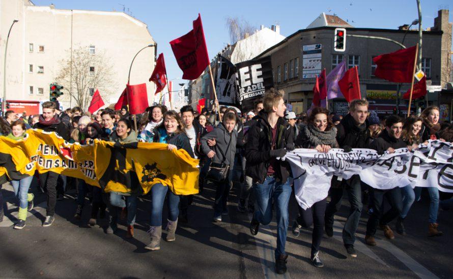 Interview: Refugee Schul- und Unistreik in Berlin