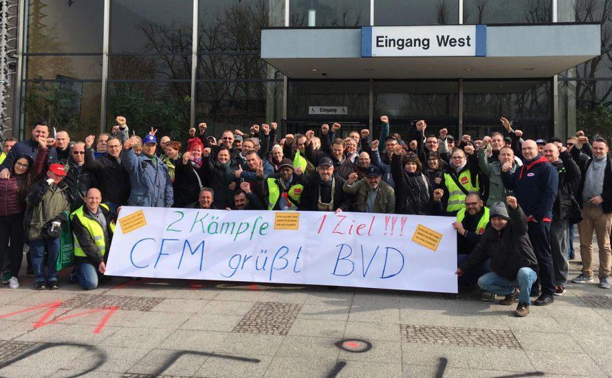 Solidarität von der Charité zu den Berliner Flughäfen