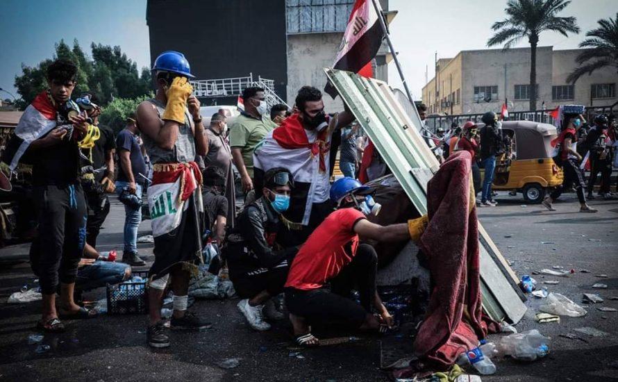 Straßenschlacht in Bagdad