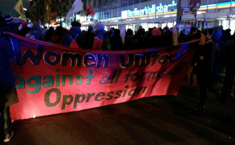 """""""Unsere Selbstorganisierung gegen ihre Gewalt"""""""